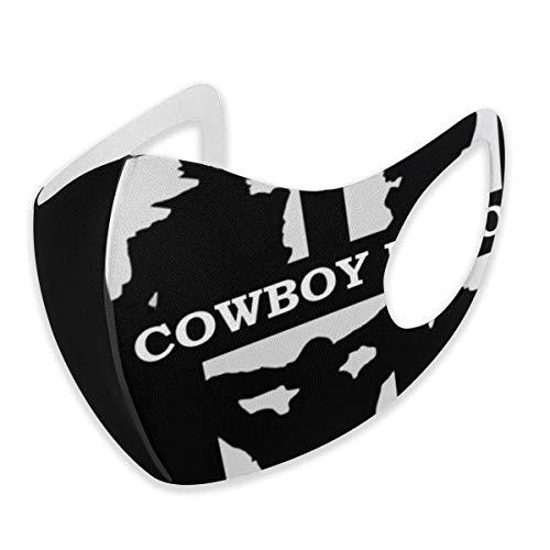 GTAOMCRL Cowboy Bebop9 Mundschutz, Unisex, Ohrschlaufen-Gesichtsschutz für Reisen, Radfahren, Anti-Staub, Schwarz , M