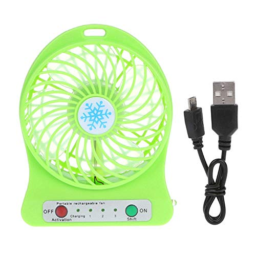 Ventilador De Mesa USB-Mini USB Desktop Fan Office Fan Portable Fan Ventilador De Verano con Rotación 360