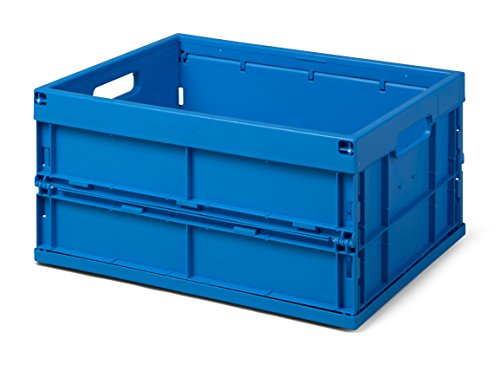 Faltbox/Klappbox FB 475/240-0, 32 liter, 475x350x240 mm (LxBxH), blau, Industriequalität