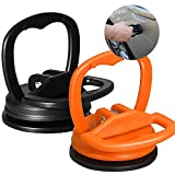 QQCherry Dent Puller, Dent Repair Puller, 2 Pack-Powerful Traceless Dent Removal for Cars Computer Screen Glass Tiles Mirror Lifting and Objects Moving, Small