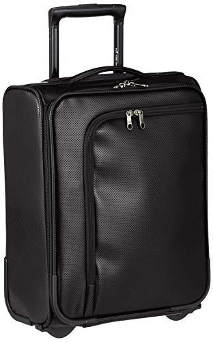 [ヒデオワカマツ] スーツケース ソフト アイラ 2輪 機内持ち込み可 85-76480 23L 47 cm 2.4kg ブラック