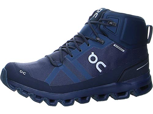 On Running M Cloudrock Waterproof Blau, Herren Wanderschuh, Größe EU 48 - Farbe Navy - Midnight