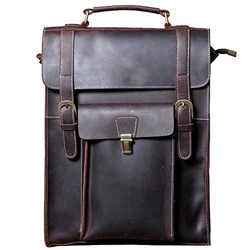 Leather Wallet Backpack Vintage Handcrafted Backpack for Laptop up to 13 Inch Vintage Business Bag Shoulder Bag Unisex Backpack