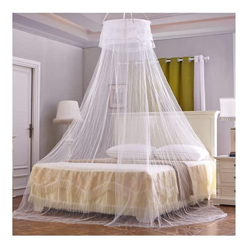 Msoah Mosquitera para Cama, Adecuado para Cama Individual O Matrimonio Anti Mosquitos para El Hogar O De Vacaciones