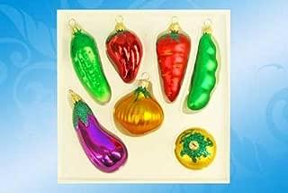 Vegetables Christmas Tree Ornament Set