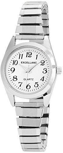 Excellanc Damen-Uhr Zugarmband Metall Analog Quarz 1700022-002