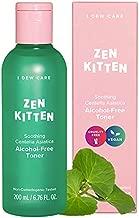 I DEW CARE Zen Kitten | Non-comedogenic Alcohol-Free Toner with Centella Asiatica | Toner for Blemish-Prone and Sensitive Skin | Korean Skincare, Vegan, Cruelty-Free, Paraben-Free, Alcohol-Free