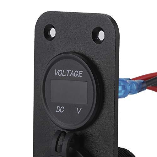 Hatirea Enchufe USB para automóvil, Toma de Cargador para automóvil Estable y confiable con 4 Tornillos para vehículos Todoterreno, Barcos, Yates para vehículos, vehículos recreativos