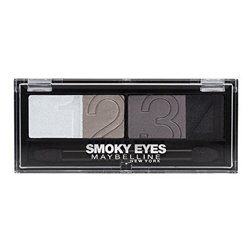 Maybelline Jade - Eyestudio Smokey Eyes Quattro - Fards à paupières - 32 Charcoal Smokes - 5 g
