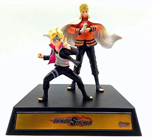 gengxinxin Modèle Fait À La Main Naruto Boss Whirlpool Naruto Père Et Fils Ornement Modèle Ninja Design Créatif Fait À La Main Qui Vaut La Décorations De Bureau Collections Cadeaux