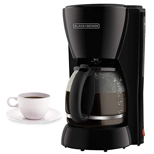cafetera sin filtro fabricante BLACK + DECKER