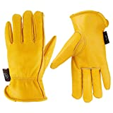KIM YUAN Winter Warm Work Gloves 3M Thinsulate Lining Perfect for Gardening/Cutting/Construction/Motorcycle, Men & Women (XXL)
