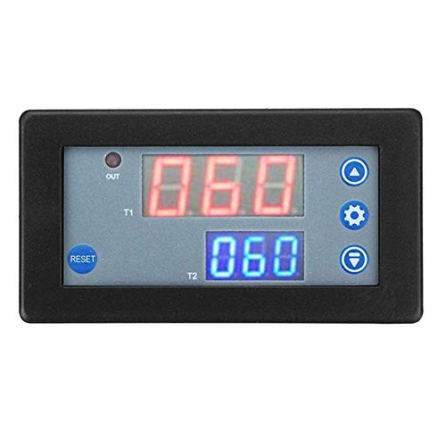 ZGQA-GQA Delay Relay Module 1500W 10A Digital Dual Display Time Cycle Timing Spot Steuermodul