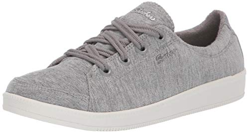 Skechers Women's Madison Ave-Inner City Sneaker, Grey, 9 M US