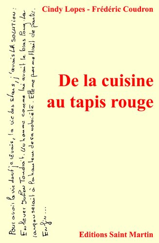 De la cuisine au tapis rouge (LITTERAIRE) (French Edition)