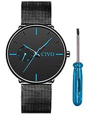 【6/28まで】 CIVO 腕時計 お買い得セール