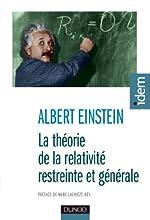 La théorie de la relativité restreinte et générale - 2e éd. d'Albert Einstein