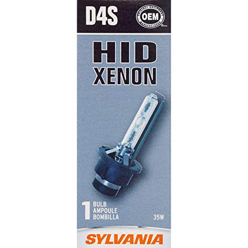 SYLVANIA D4S High Intensity Discharge (HID) Bulb, (Contains 1 Bulb)