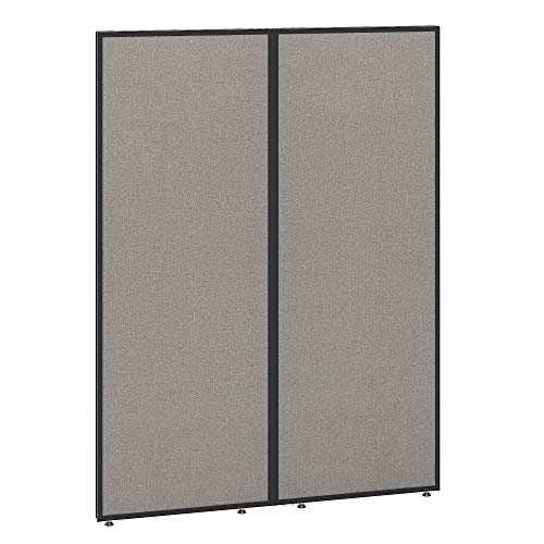 Bush Business Furniture ProPanels Office Partition, 66H x 48W, Light Gray