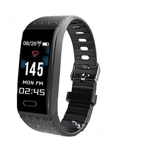 HHBB Rastreadores de fitness, reloj de ejercicio de salud con ritmo cardíaco y monitor de sueño, contador de calorías de banda inteligente, contador de pasos, podómetro para hombres mujeres