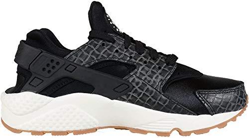 Nike 683818 011 Air Huarache Run Premium Black|37.5