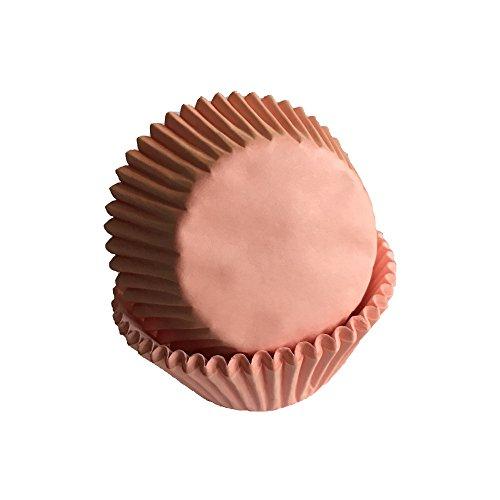 Tasty Cooky Shop Lot de 50 caissettes à muffins en papier abricot/abricot