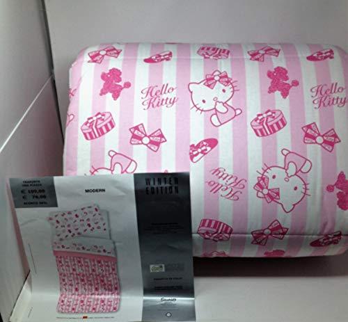 Sanrio Hello Kitty - Colcha para Cama Individual (170 x 260 cm), diseño de Hello Kitty