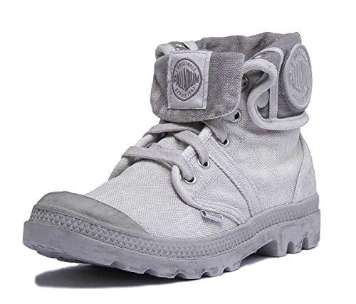 Palladium Herren Us Baggy W H Hohe Sneaker, Grau (Vapor/métal), 42 EU