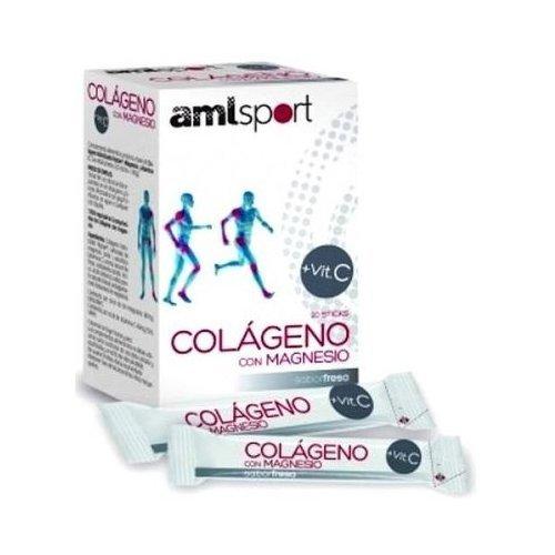 Colágeno con Magnesio Amlsport 20 sticks de Ana Maria La Justicia