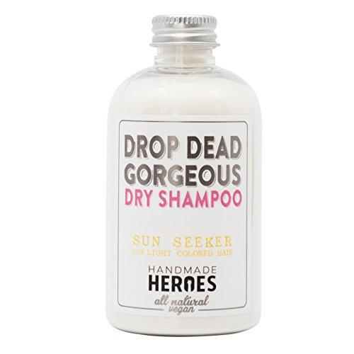 All Natural, Vegan Dry Shampoo Powder  For Blonde and Brunettes, Light, Medium to Dark Color & Brunette Hair  Volume Hair Powder Travel size 2 oz (Blonde - For Light Hair)