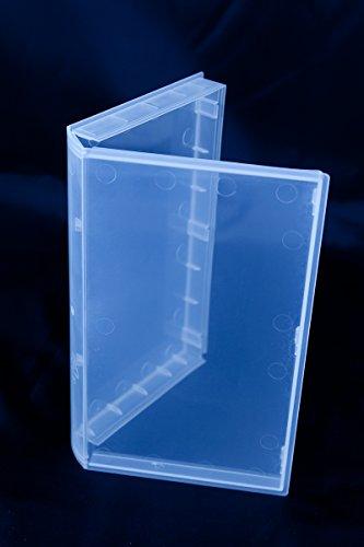 VHS Video-Kassetten Hülle, Buchhülle transparent, transparent (10 Stück)