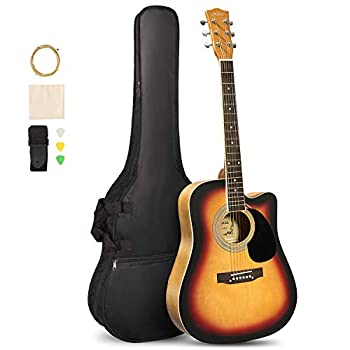 Artall Handcrafted Acoustic Cutaway Guitar Beginner Kit review