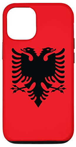 iPhone 12/12 Pro Albanian Flag Red And Black Albania Eagle Case