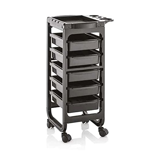 Xanitalia Pro Barcelona - Carro porta herramientas negro - 5600 g