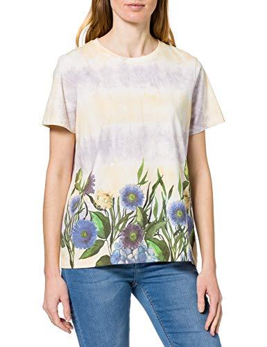 Desigual TS_Oslo Camiseta, Blanco, M para Mujer