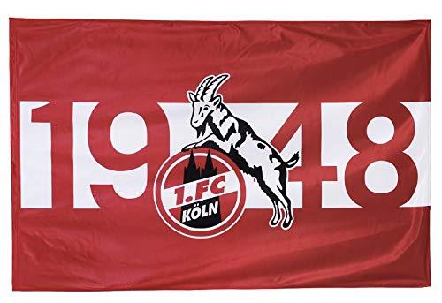 1. FC Köln Fahne/Stockfahne ** 1948 ** 150 x 100 cm 5040045