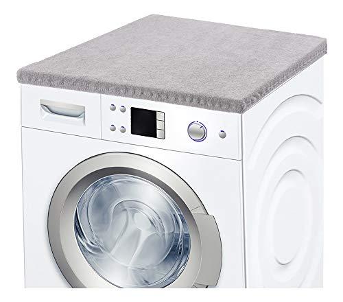 Ladeheid Waschmaschinenbezug Frotteebezug 50x60 cm (Hellgrau)