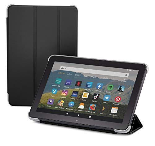 NuPro Custodia pieghevole con supporto integrato per tablet Fire HD 8 (10ª generazione, modello 2020),...