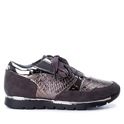 Xti 047259 Zapato DE Mujer XTI 047259 Sintético Mujer Gris 38
