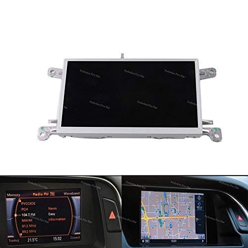 "HUOGUOYIN Autoradio Bluetooth Fit for Audi A4 B8 A5 Q5 2010 2012 2015 MMI Multi Media Display Unit 6.5\"" LCD-Schirm GPS-NAV-Monitor 8T0 919 603 E"