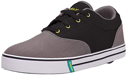 Heelys Herren Launch, Charcoal/Black/Lime,  42 EU