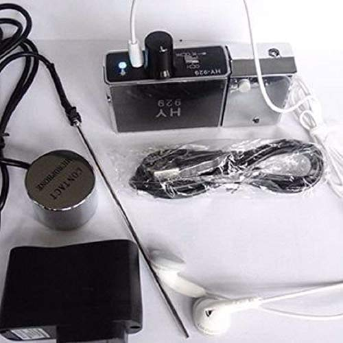 HY929 High Strength Wall Microphone Voice Bug/Ear Listen Device +Recorder