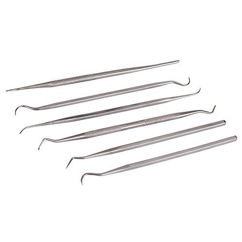 Silverline 415070 - Herramientas para moldear y esculpir, 6 pzas (6 pzas)