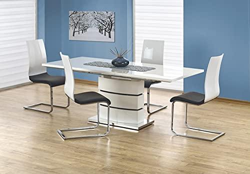 Table A Manger Extensible Design 160÷200/90/75 CM - Blanc
