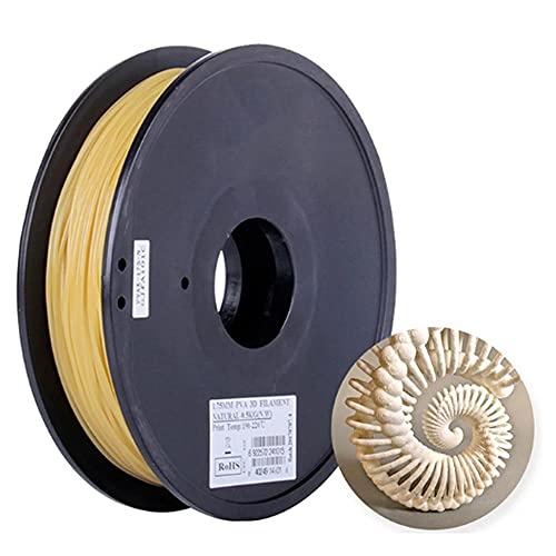 Filamento 3D de PVA soluble en agua PVA Filamento PVA 1.75mm o 2.85mm 0.5kg 1.1lbs Material de soporte de filamento de impresión 3D para impresora...