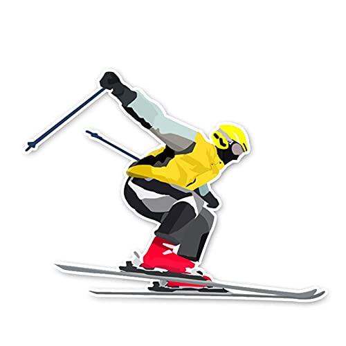 Etiqueta engomada del coche de color 10.4 X 13.7cm Escalada Montaña de moda Montaña Extreme Sport Gráfico Pegatinas de Coche Accesorios C30-0012 Logo sticker