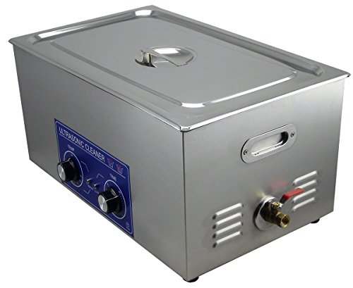 Jakan 22L Carburetor Ultrasonic Cleaner for Factory or Home To Clean the Electron Component,Stamping,Mechanical Parts,Clocks and Watches,Glasses,Jewelry,Medical Devices,Jewelry.