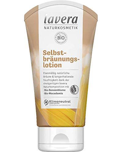 lavera Selbstbräunungslotion • Selbstbräuner • natürliche Bräune • Naturkosmetik • vegan • zertifiziert • 150 ml