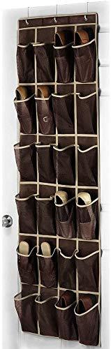 Jilibaba 45 × 150 cm, 24 bolsillos no tejidos, almacenamiento para zapatos