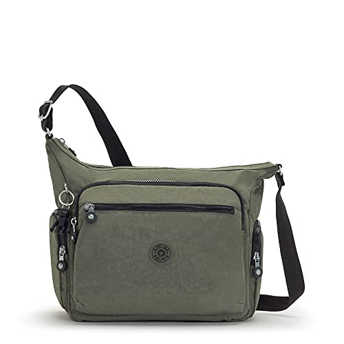 Kipling womens Gabbie crossbody bag, Green Moss, Medium US